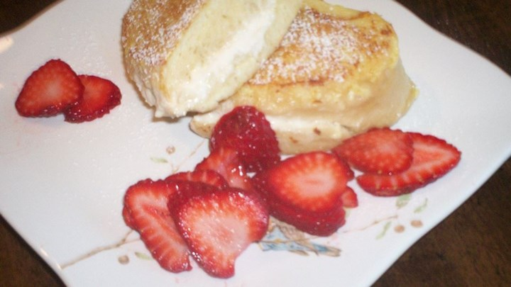 A Surprise-Inside French Toast