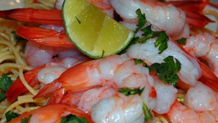 Thai Chicken And Shrimp Noodle Salad Recipe — Dishmaps