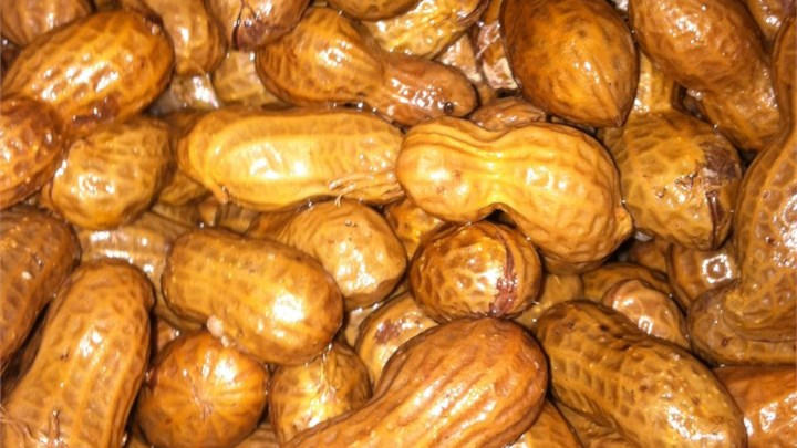 Garlic and Onion Boiled Peanuts