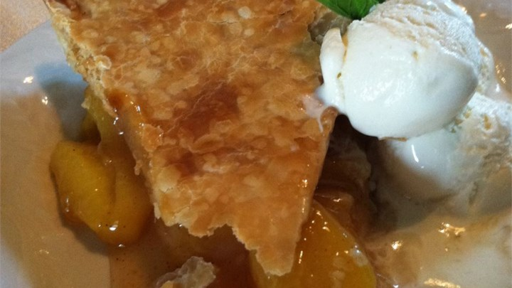 Honey Peach Pie