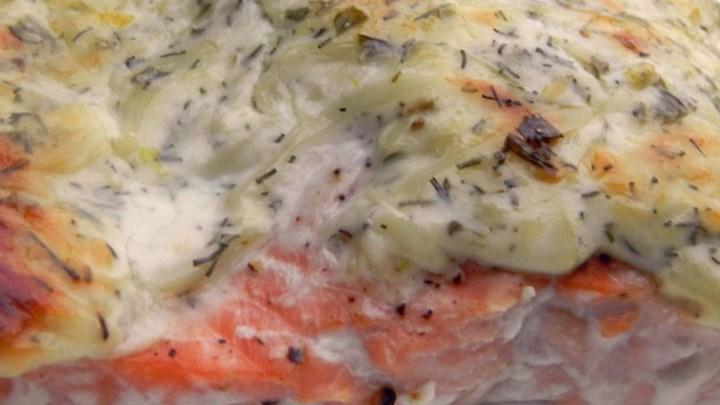 Dill-Tarragon Salmon