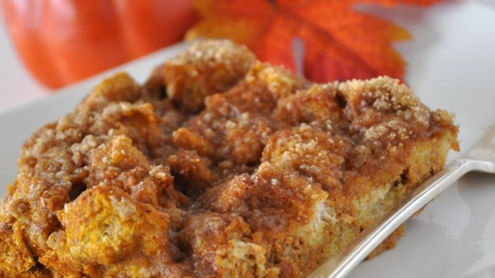 Pumpkin French Toast Bake Recipe - Allrecipes.com