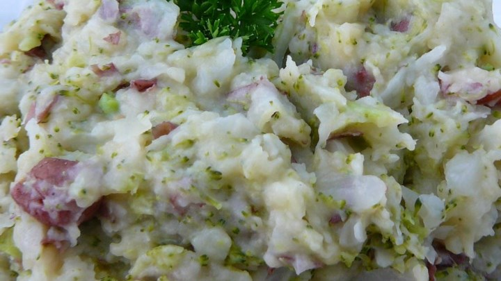 Cheap Irish Colcannon
