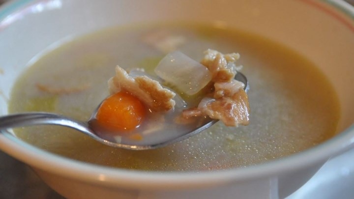 Hatteras Style Clam Chowder