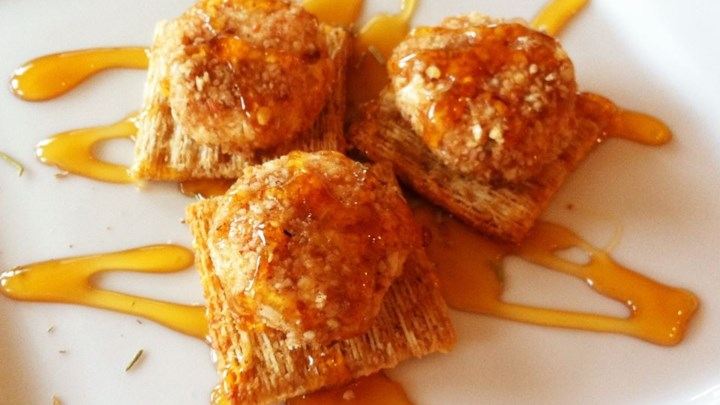 Creamy Goat Cheese and Honey