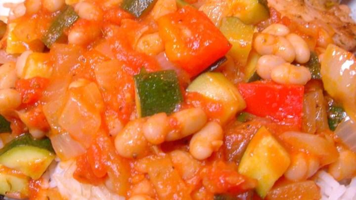 Zucchini Mediterranean Style