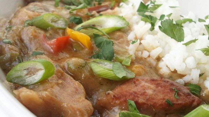 Dupre Family Chicken and Sausage Gumbo