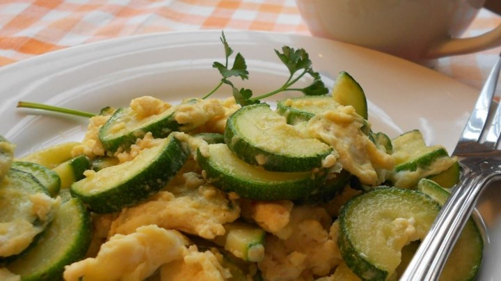 Zucchini and Eggs
