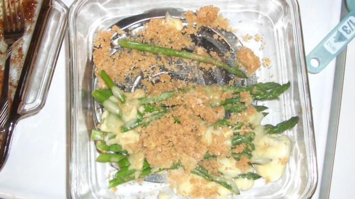 Asparagus with Brie
