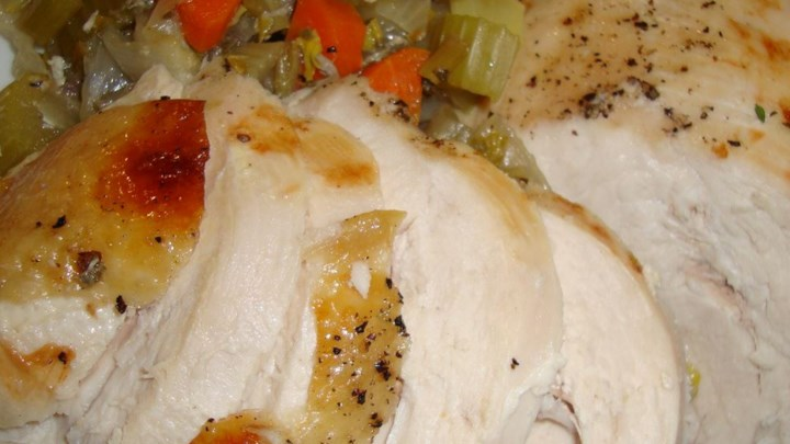Roasted Turkey, Navy Style