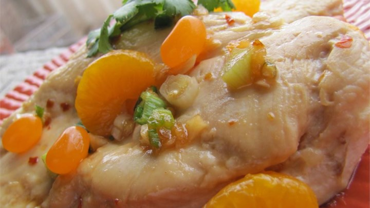 Mandarin Chicken Saute