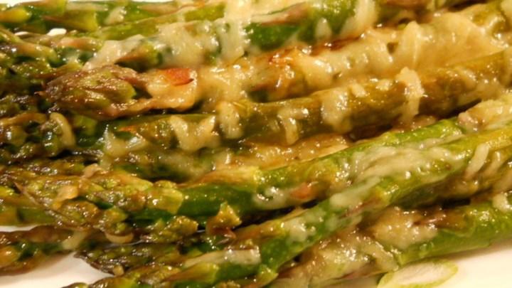 Buck's Italian-Grilled Asparagus