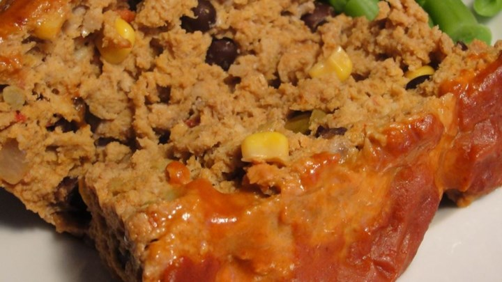 Lighter Mexican Meatloaf