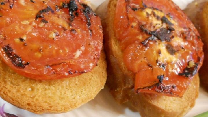 E-Z Tomato Toast