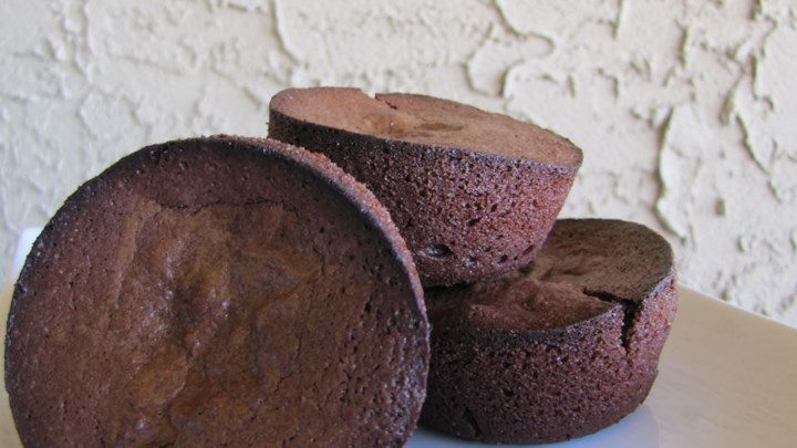Little French Fudge Cakes