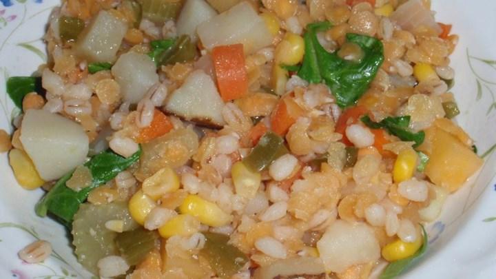 Lentil Barley Stew