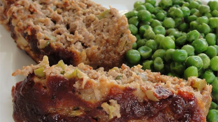 Zucchini Ranch Meatloaf