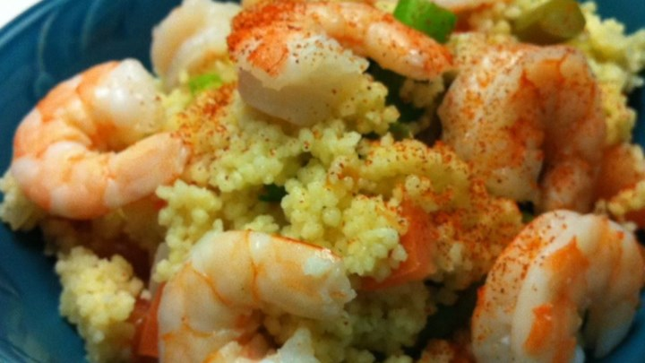 Shrimp Couscous Salad