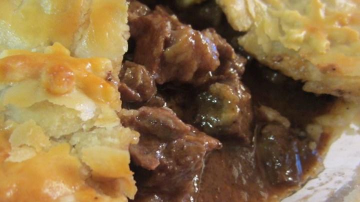 Steak and Irish Stout Pie