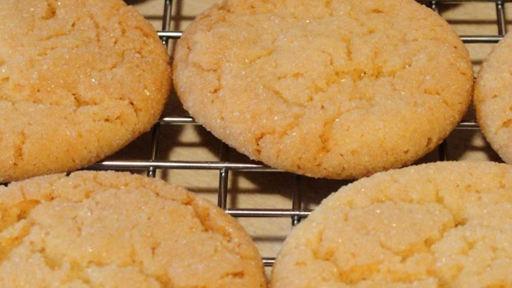 Lemon Sugar Tea Cookies