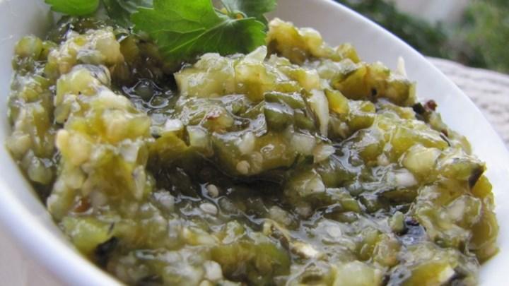 Roasted Spicy Salsa Verde