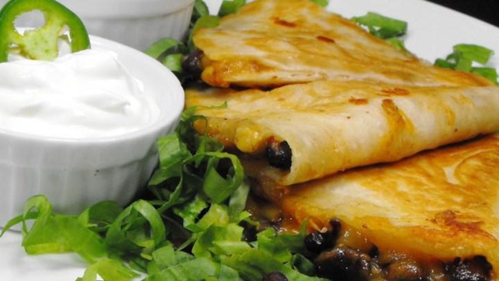 Black Bean and Corn Quesadillas Recipe - Allrecipes.com