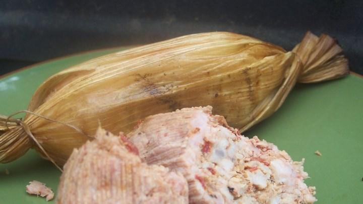 Rhubarb-Chipotle Sausage