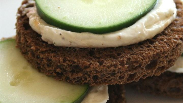 Cucumber Sandwich Appetizers