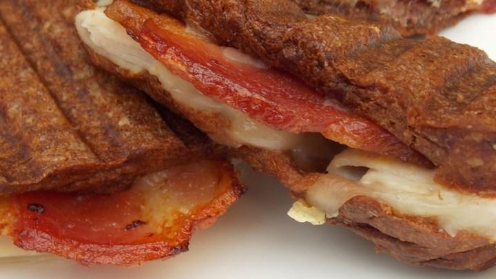 Grilled Maple Turkey Sandwich