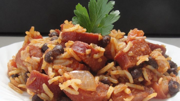 Martha's Spanish Rice and Sausage
