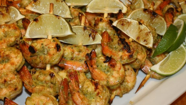Spicy Coconut and Lime Grilled Shrimp Recipe - Allrecipes.com