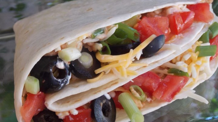 Kid-Friendly Taco-Burritos
