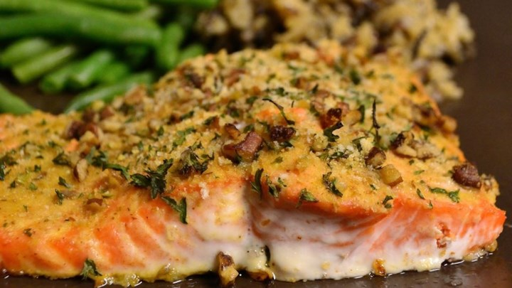 Baked Dijon Salmon Recipe - Allrecipes.com