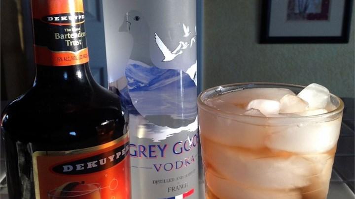 Alcoholic Sweet Peach Tea