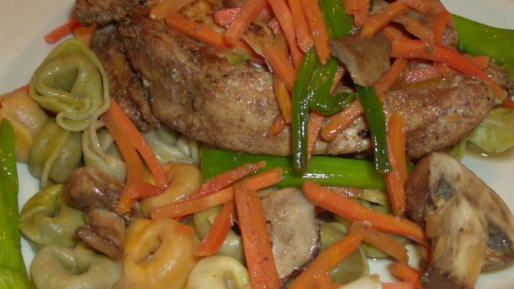 Salt and Pepper Chicken Stir Fry