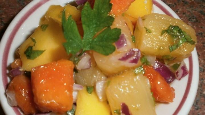 Caribbean Fruity Salsa