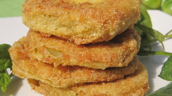 fried green tomatoes cracker barrel restaurant recipe 1 medium tomato ...