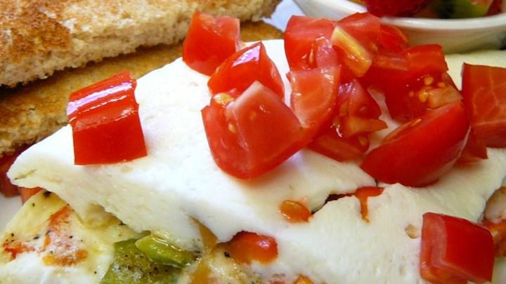 Easy Egg White Omelet