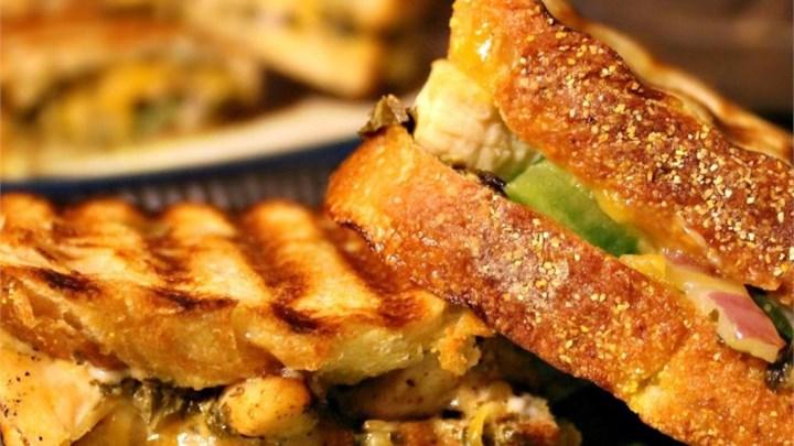 Chicken Pesto Paninis