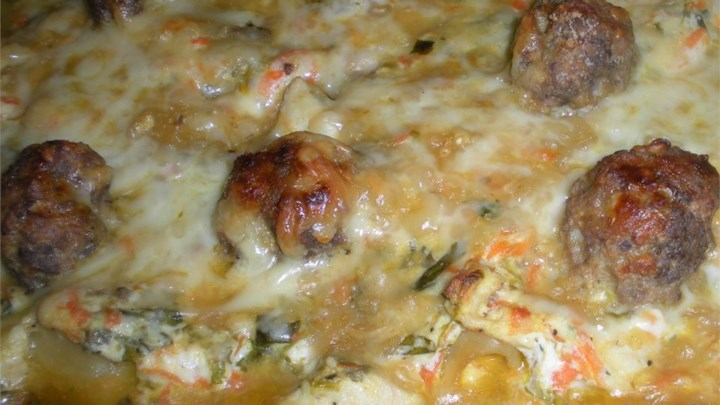 Wedding Soup Lasagna