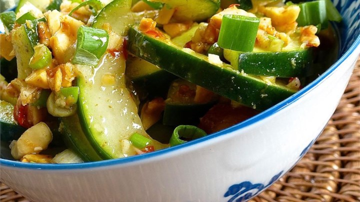 Asian Cucumber and Peanut Salad