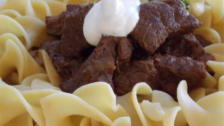 Chef John's Beef Goulash