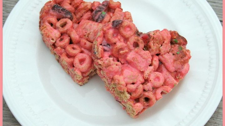 So Pink Cereal Bars