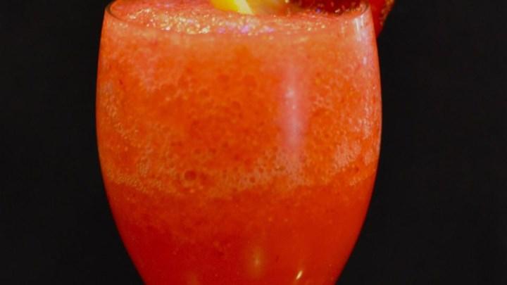 Strawberry Lemonade Slushie