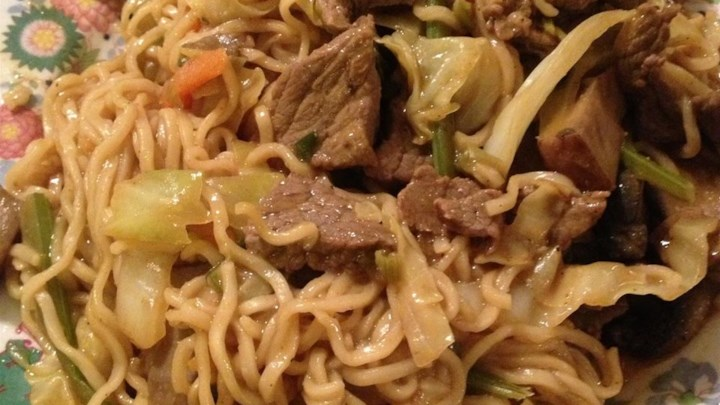 Spicy Thai Steak and Vegetable Stir Fry