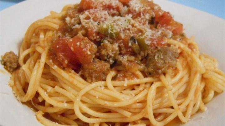 Red Bowl Spaghetti