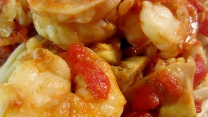 Shrimp Primavera with Sun-Dried Tomatoes