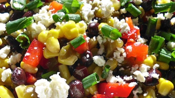 Black Bean and Feta Cheese Ugly Dip