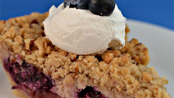Creamy Apple Blueberry Pie