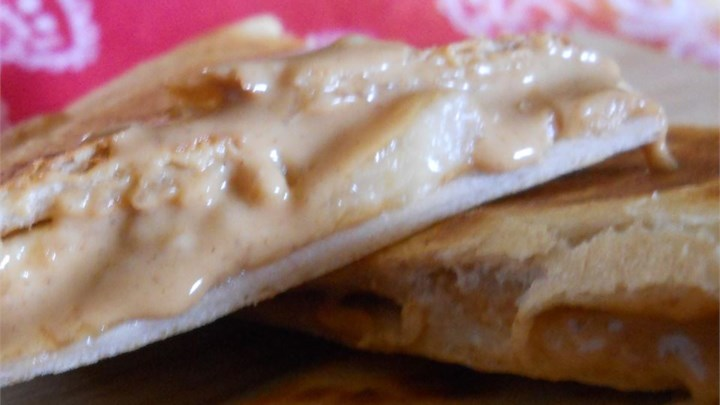 Peanut Butter Banana Quesadilla